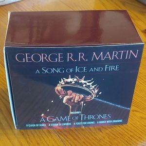 🖤A Song of Ice & Fire - Game of Thrones Book Set